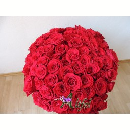 Buchet de 101 trandafiri
