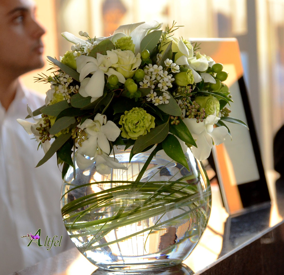 Aranjament Premium Globe Aranjamente Florale Botez Botez