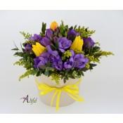"""Set 5 aranjamente florale ,,Frezii si lalele"""""""