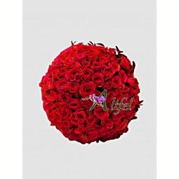 Buchet de 99 trandafiri
