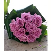 Buchet 9 trandafiri Cool Water